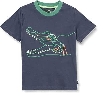 Sanetta T-Shirt Blau Camiseta para Niños