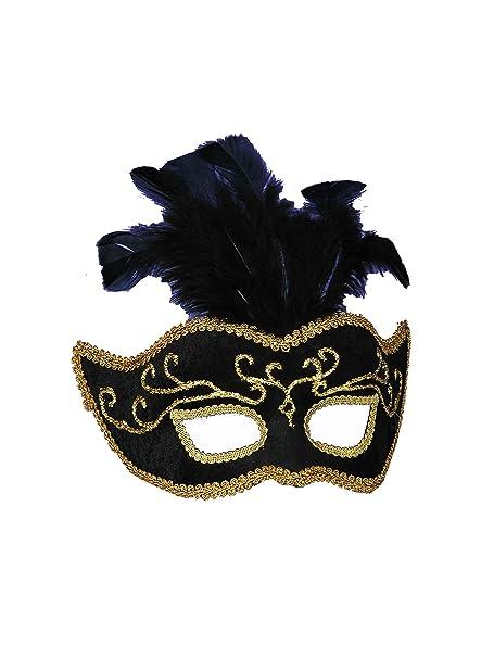 Amazon.com: Forum Mardi Gras Costume Masquerade Máscara con ...
