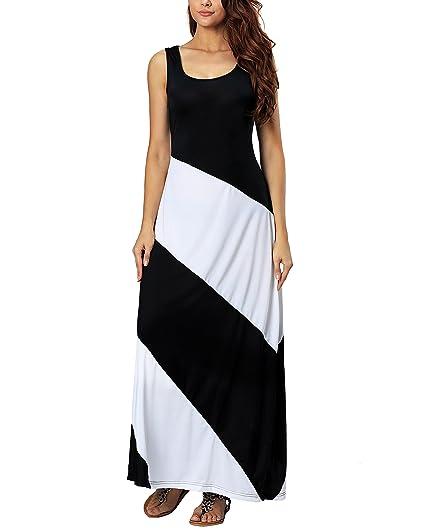 a8c01a0b4cb6 Aox Women Elegant Evening Party 3/4 Sleeve Open Chest Adjustable Tie Waist  A Line
