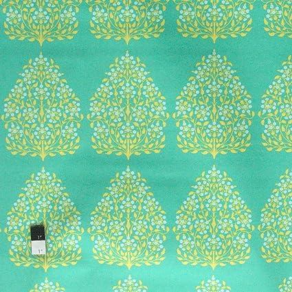Amazon Com Amy Butler Saab001 Lark Sateen Henna Trees Grass Cotton