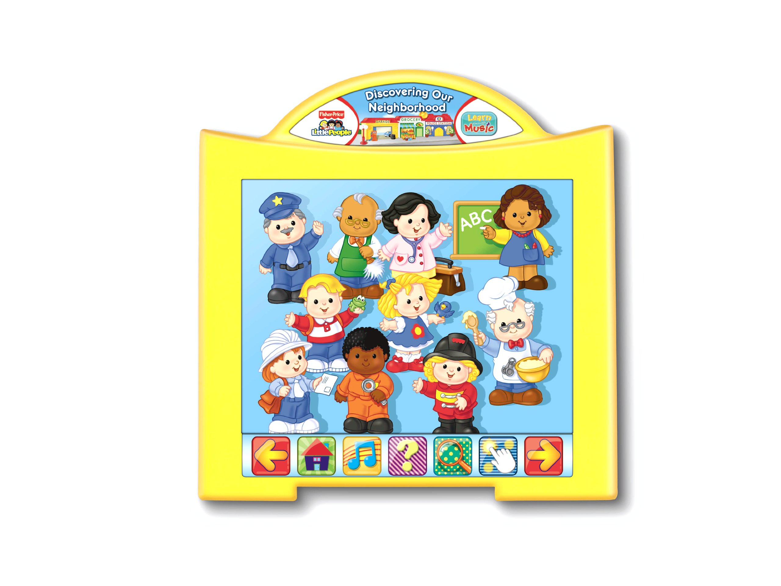 Fisher-Price Learn Through Music Touchpad Software - Little People's Discovering The Neighborhood by Fisher-Price (Image #3)