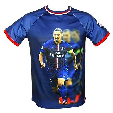Equipo de fútbol Paris Saint-Germain-Camiseta de fútbol para niño, diseño del