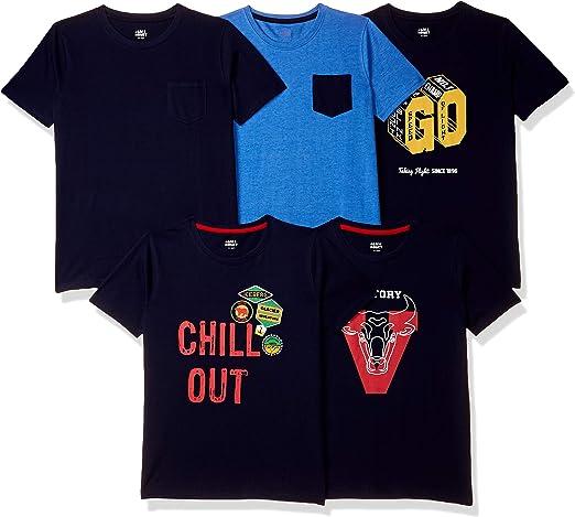 [Size 9-10Y] Amazon Brand – Jam – Honey Boys Regular Fit T-Shirt