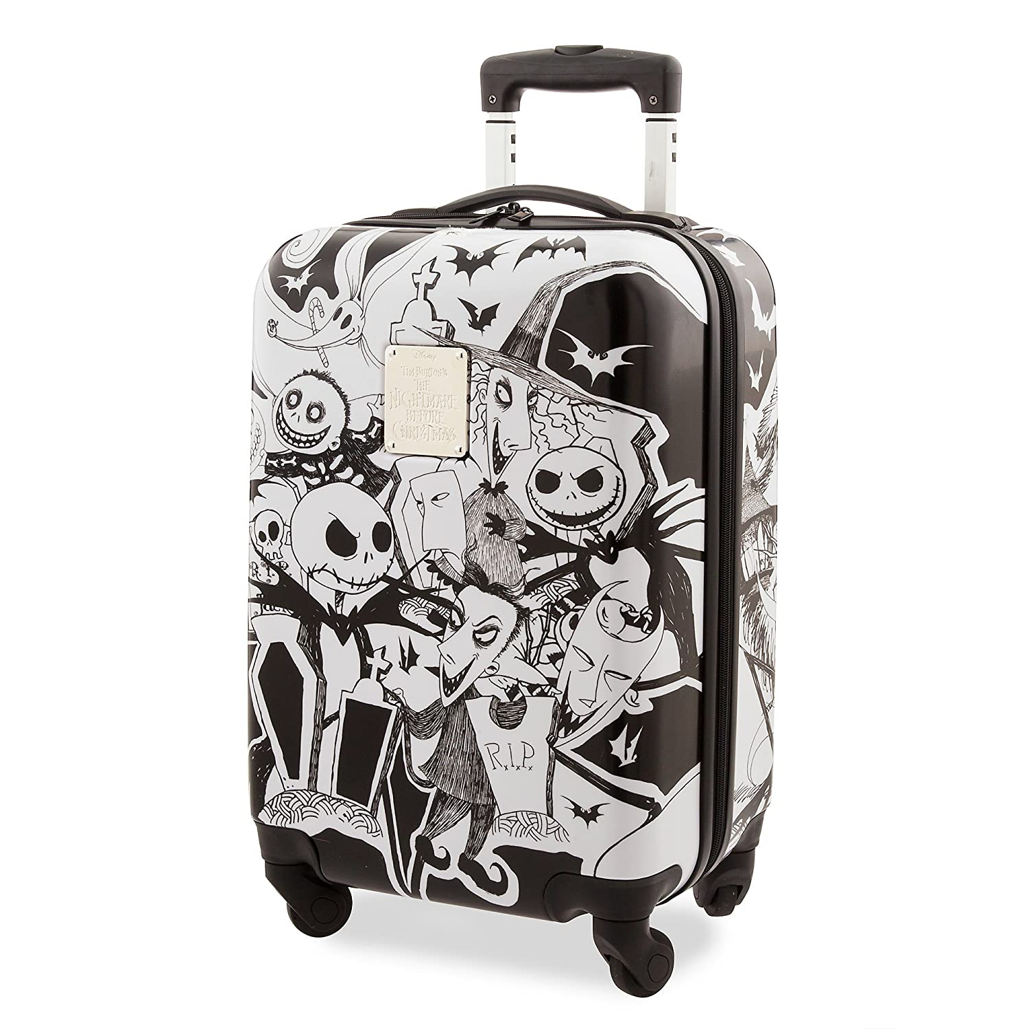 Disney Jack Skellington and Friends Rolling Luggage 427247955168