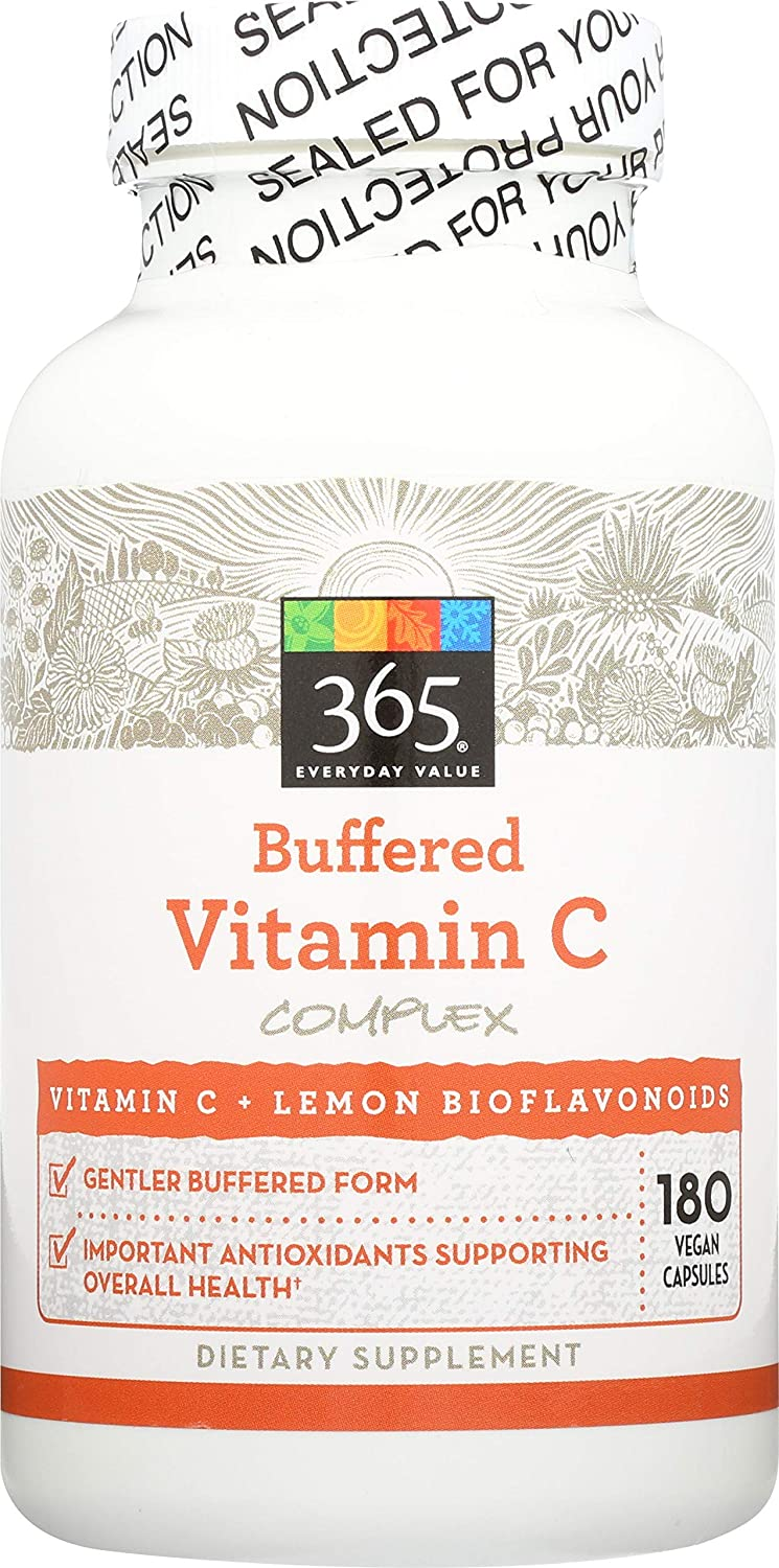 365 Everyday Value, Buffered Vitamin C Complex, 180 ct