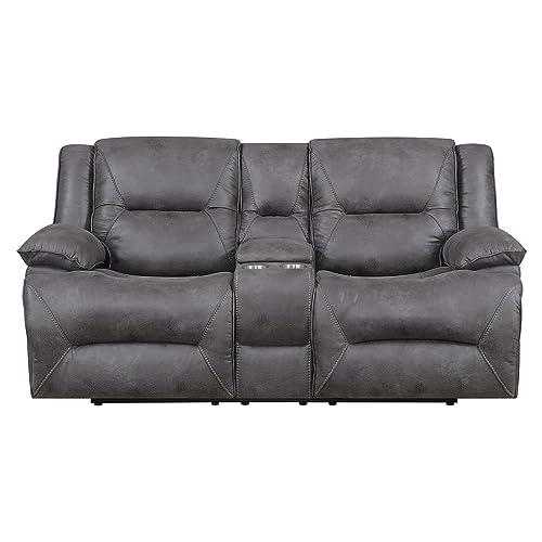 Flexsteel Everly Sofa: Dual Reclining Loveseat: Amazon.com