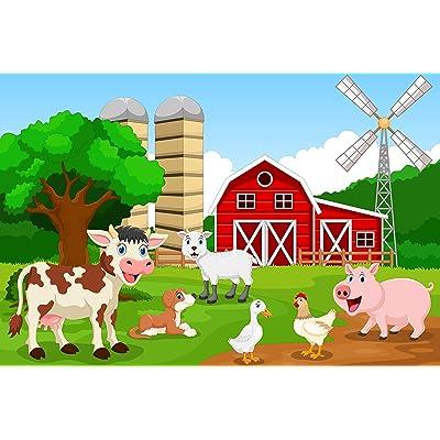 "Farm Animals 35 Piece Children's Jigsaw Puzzle 12"" X 18"": Toys & Games"