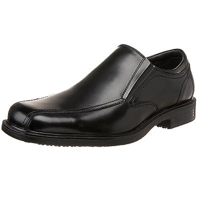 Dockers Men's Society Slip-Resistant Slip-On,Black,8 ...