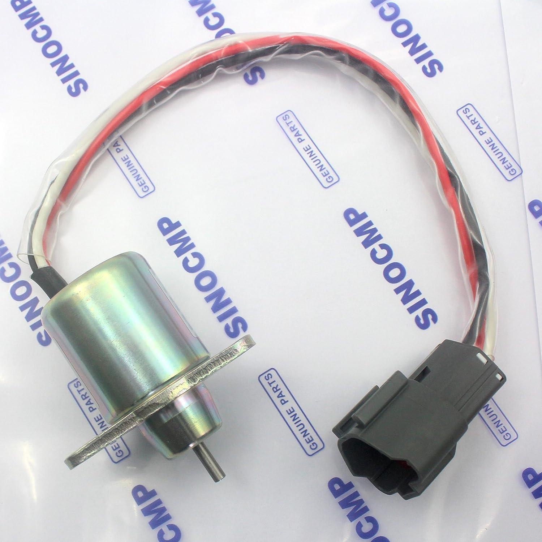 3/mesi di garanzia /77932/M810324/12/V chiuso Solenoide per Model R55/R60/ /7/DH55/DH60/PC40/PC50 Sinocmp 1503es-12s5suc12s 119233/