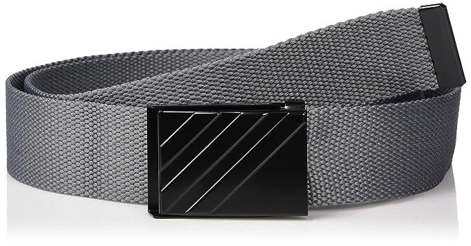 Adidas Originals Blue 3 stripes Webbing Belt for men