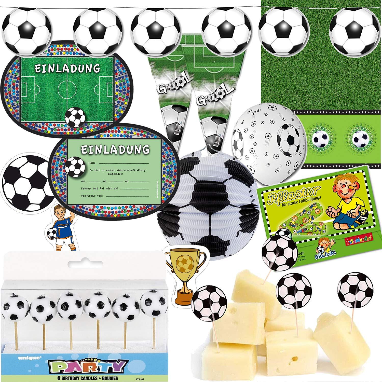 173 piezas, Fiesta * Fútbol * para fiestas de cumpleaños ...