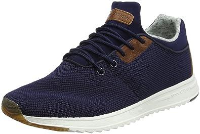 Marc O'Polo Sneaker 80223713501601, Baskets Homme, Vert (Oliv Multi 539), 43 EU