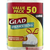 Glad Glad Drawstring Bin Liners, 50 count