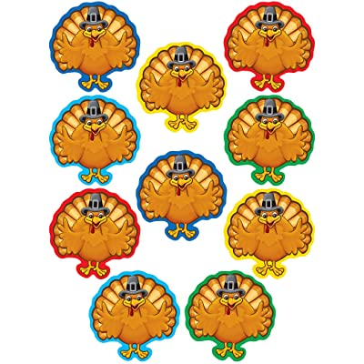 Teacher Created Resources Turkeys Accents: Office Products