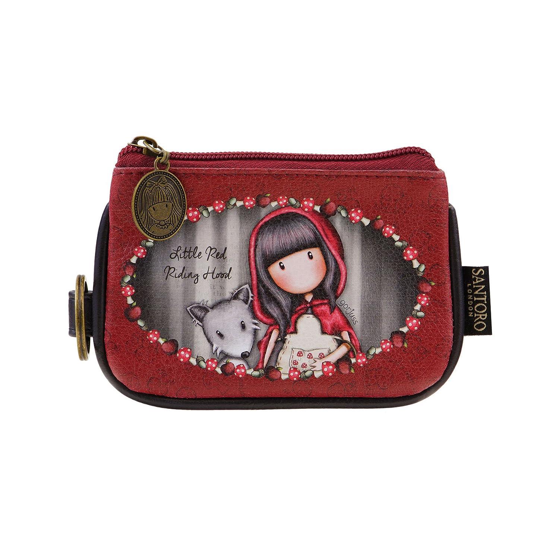 Cappuccetto rosso - portamonete con cerniera e portachiavi di Gorjuss