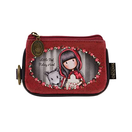 321fd0d26c4 Santoro Gorjuss Keyring Zip Purse Little Red Riding Hood 340GJ17   Amazon.co.uk  Kitchen   Home