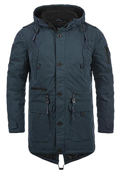 jacke herrenjacke herren Details parka Winter mantel schwarz zu H kapuze lang warm 102 NEU qSVLUjzMpG