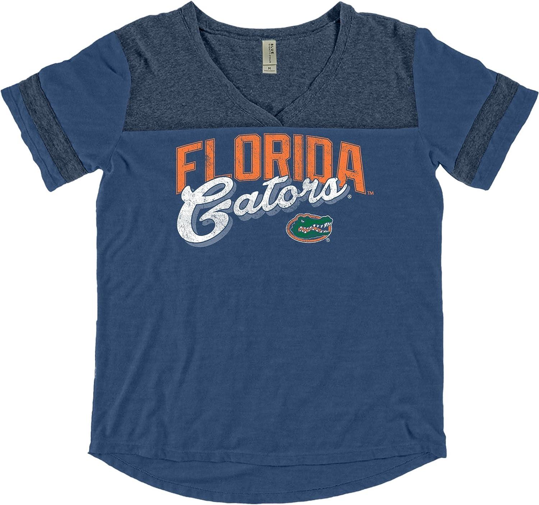 Blue 84 NCAA Florida Gators Adult Women NCAA Womens Dyed Varsity Tee,Small,Royal