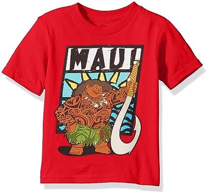728c82e9 Freeze Kids Boys Moana Maui Red Toddler Boys Shirt 2T: Amazon.co.uk:  Clothing