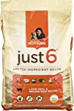 Rachael Ray Nutrish Just 6 Adult Dog Food Lamb Meal & Brown Rice Recipe