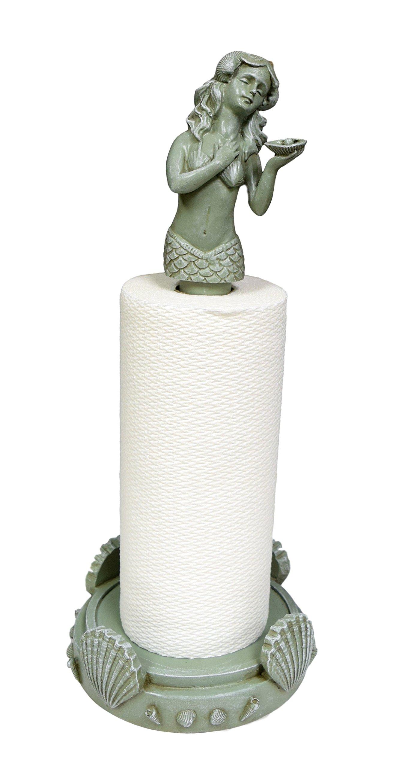 Hickory Manor House Mermaid Paper Towel Holder/Seamist Seamiest by Hickory Manor House