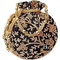Bombay Haat Ethnic Rajasthani Potli Bag for Ladies,Bridal Clutch, Purse for Party, Wedding, Wedding Gift