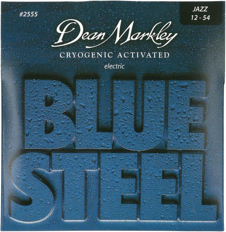 Dean Markley 2555 - Juego de cuerdas para guitarra eléctrica de acero en Mi.012-.054