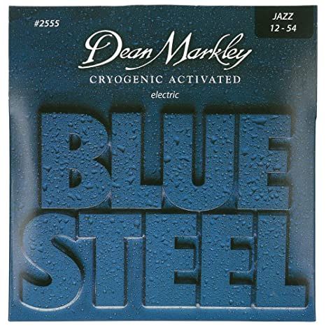 Dean Markley 2555 - Juego de cuerdas para guitarra eléctrica de acero en Mi.012