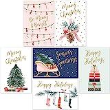 14 Christmas Cards and White Envelopes Xmas New Boxed Holidays Greeting