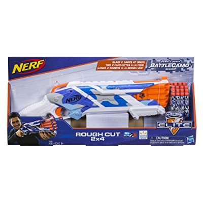 Nerf N-Strike Elite BattleCamo Series Rough Cut 2x4: Toys & Games