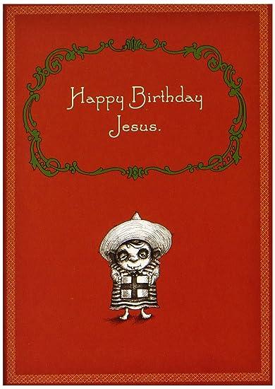 Amazon Happy Birthday Jesus By Bald Guy Greetings 8 Mini
