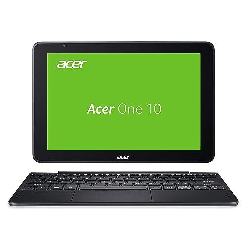 Acer One 10 S1003-14MH 25,7 cm (10,1 Zoll Full-HD IPS Multi-Touch) Convertible Notebook (Intel Atom x5-Z8350, 4GB RAM, 64GB eMMC, Intel HD, Win 10) schwarz