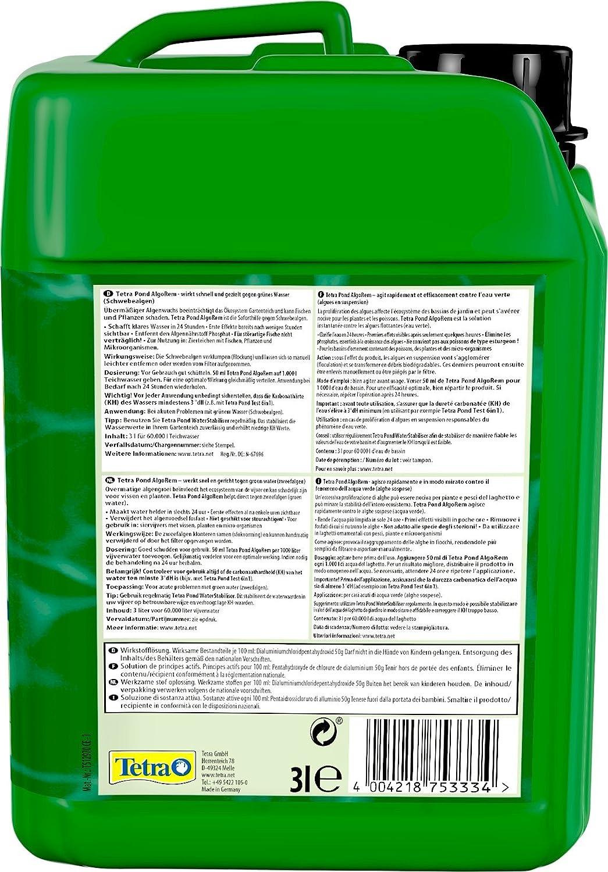 Tetra Pond AlgoRem - Anti-Algues de Référence contre l\'eau verte du ...