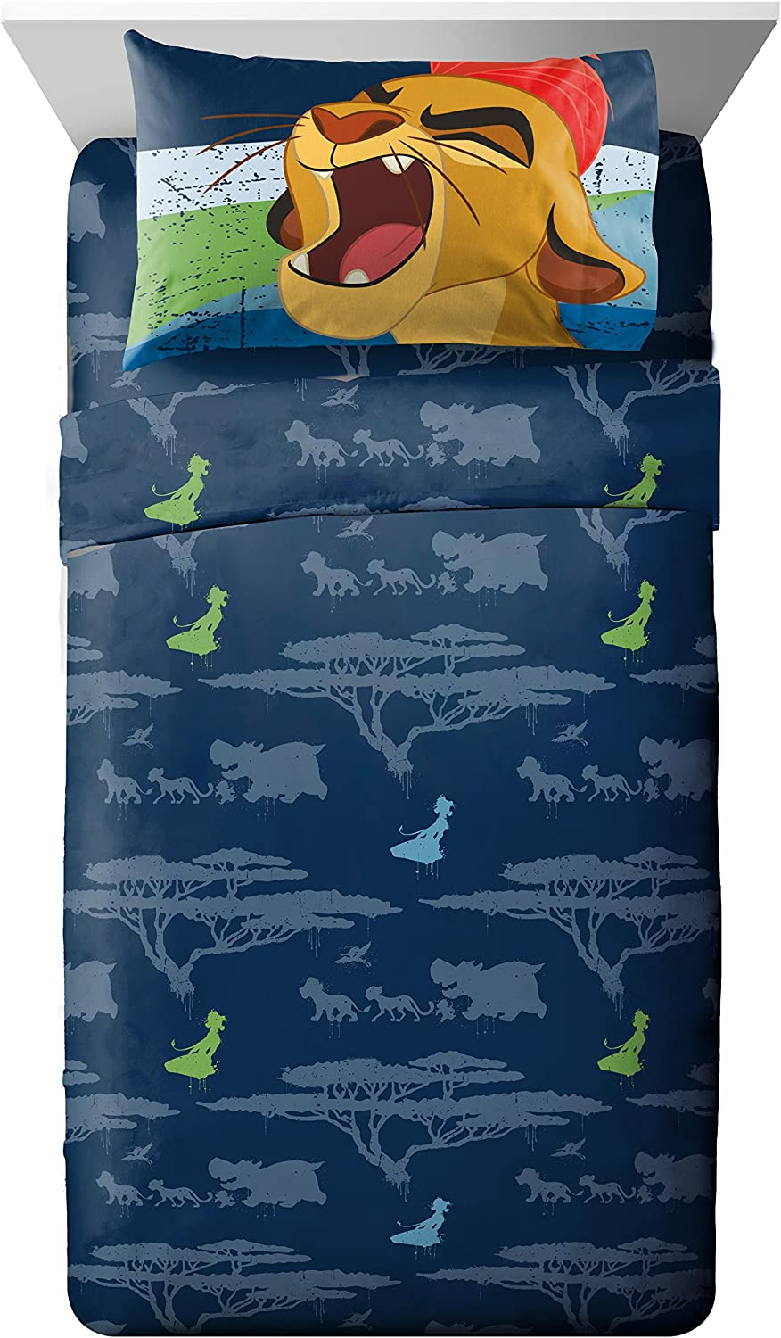 Disney Junior Lion Guard All for One 3 Piece Twin Sheet Set