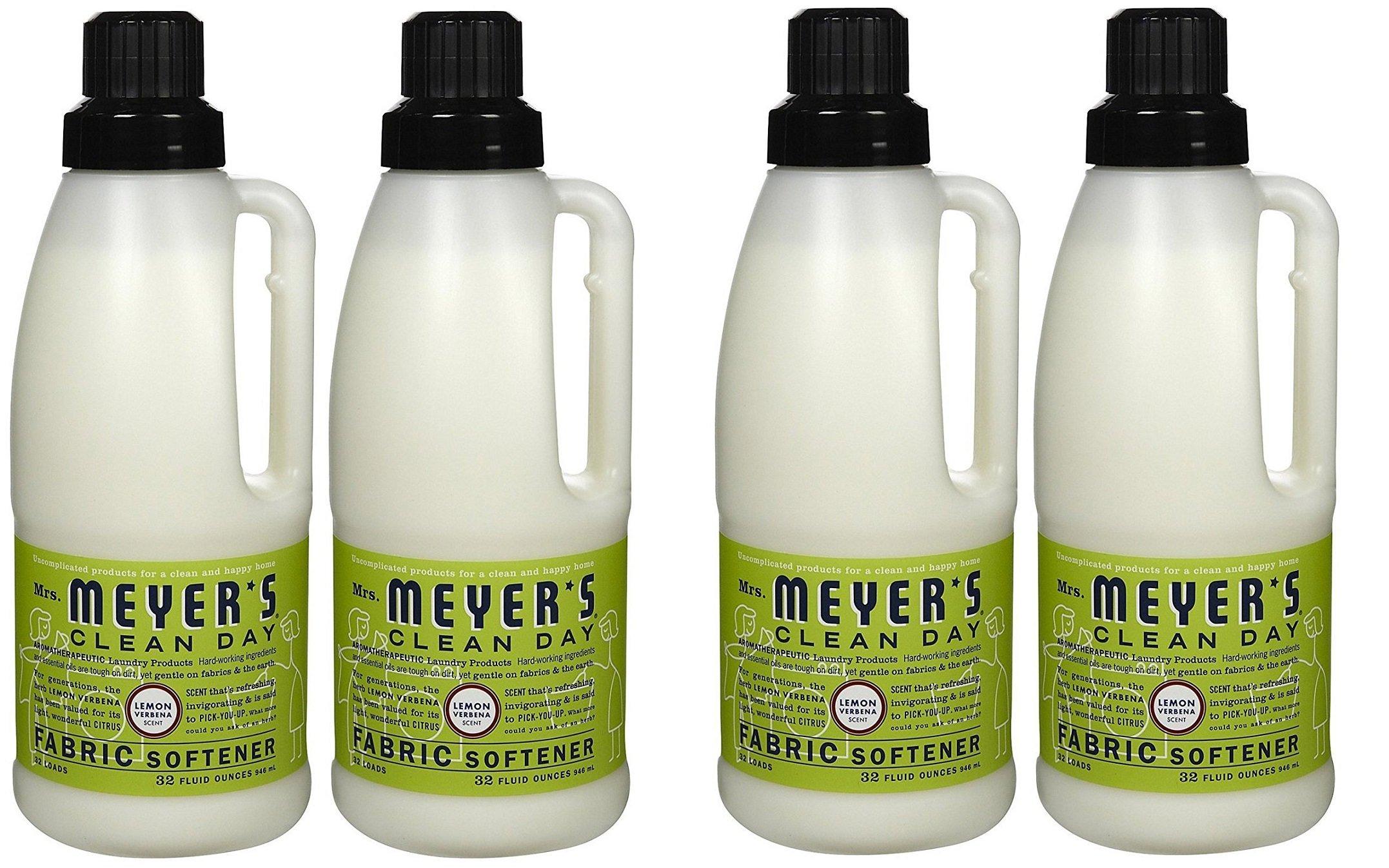 Fabric Softener - 4 Bottles (Lemon Verbena) (32 Oz)