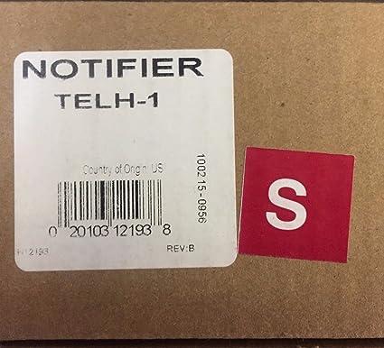 Notificador telh-1 - firefigher del auricular de teléfono