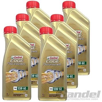 6x1 Liter Castrol Edge Professional Tws 10w 60 Bmw M Models Amazon