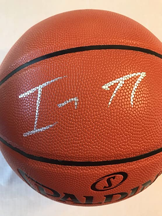61204ab46efe Isaiah Thomas Lakers Autographed Signed Official Nba Replica Basketball  Memorabilia JSA COA at Amazon s Sports Collectibles Store