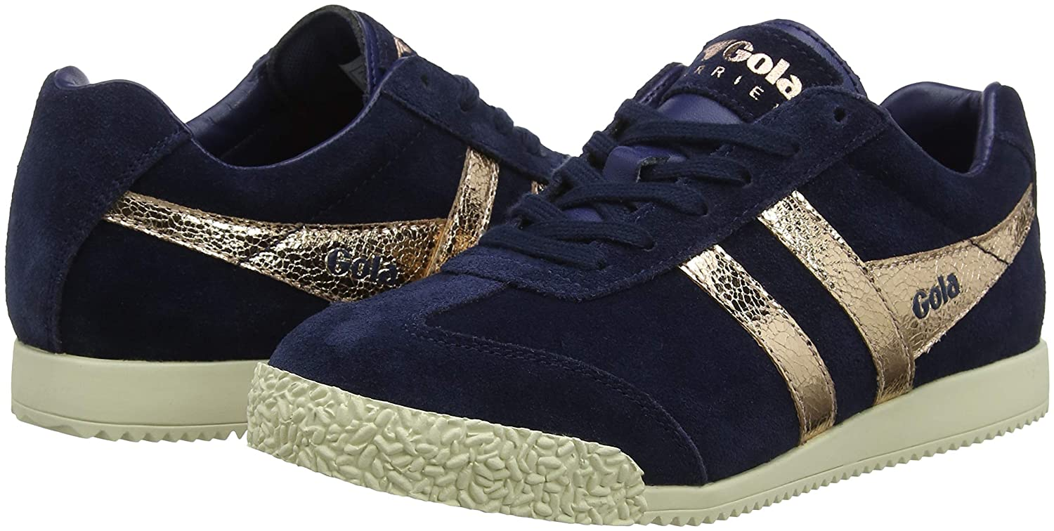 Gola Damen Harrier Ey) Mirror Sneaker Blau (Navy/Rose Gold Ey) Harrier 985bdb