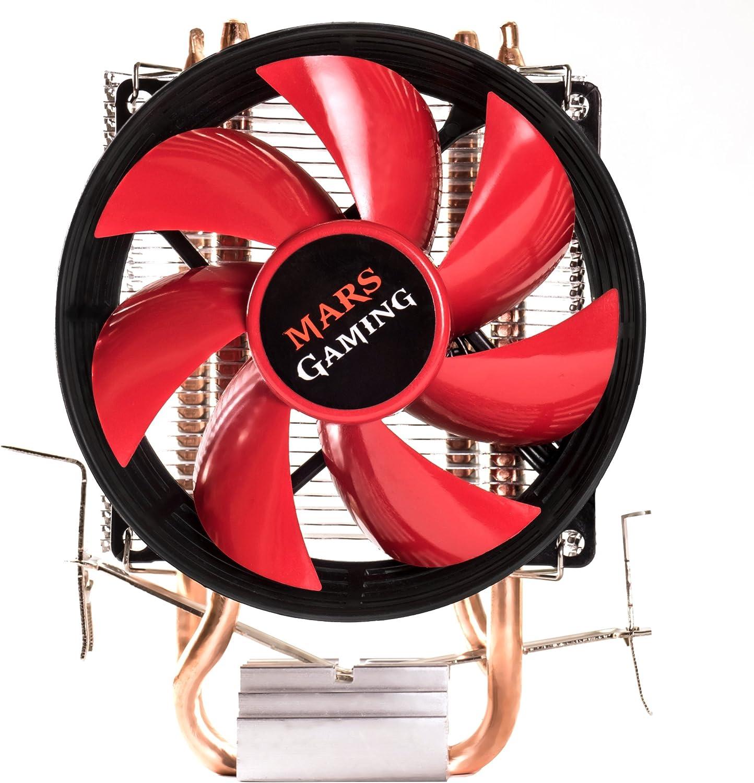 Mars Gaming MCPU117 - Disipador gaming PC multisocket universal, ventilador 90mm