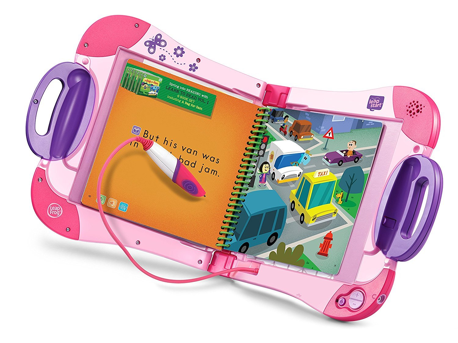 LeapFrog LeapStart Preschool To 1st Grade Learning System Pink Plus Level 1 Activity Books, Learn Basic Skills For Life, Kids Fun Interactive Toys and Books, Educational Tools, Early Schooling Bundle by LeapFrog (Image #2)