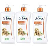 St. Ives Nourish & Soothe, Oatmeal & Shea Butter Body Lotion - Paraben Free