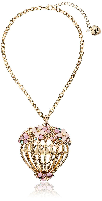 Amazon.com: Betsey Johnson Marie Antoinette Multi-Flower Large ...