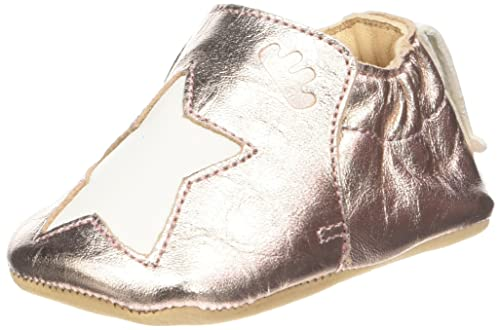Easy Peasy BLUMOO Etoile, Chaussons Bébé Fille, Rose (Pink/Blanc 432)
