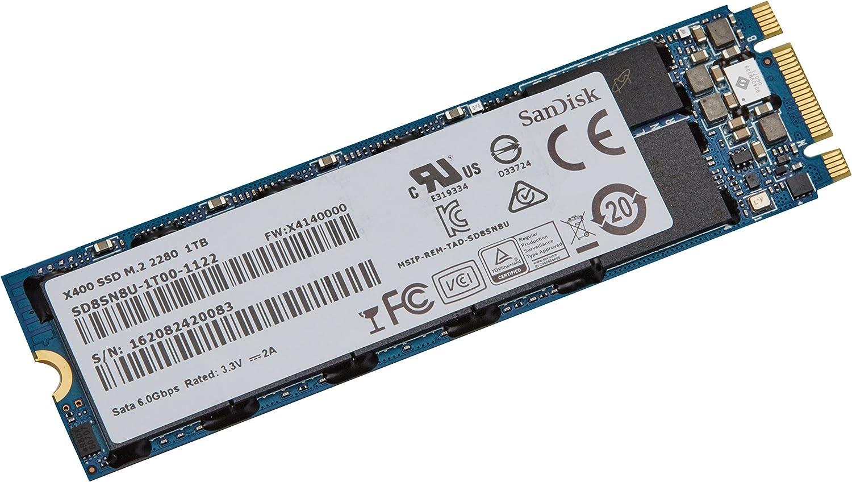 Sandisk X400 1000 GB Serial ATA III M.2 - Disco Duro sólido (1000 ...