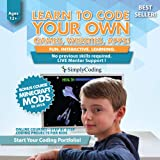 Simply Coding for Kids - Learn to Code - Program Computer Games, Websites, Apps, Minecraft Mods (Ages 12+) - Programming Animation Design Software - Pre-Paid Gift Card (PC & Mac)
