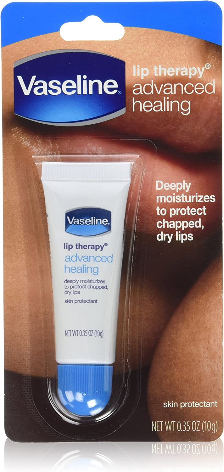 Vaseline Lip Therapy Advanced Healing 0.35 Oz (Pack of 6): Health & Personal Care