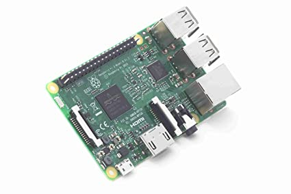 Raspberry Pi 3-MODB-1GB Motherboard (Black)
