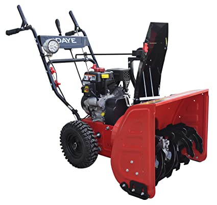 Snow Blowers Reviews >> Amazon Com Daye Ds24e 24 Inch 208cc Electric Start 2 Stage Snow