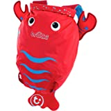 Trunki Kid's Water-Resistant Swim & Gym Bag – PaddlePak Pinch Lobster (Red)